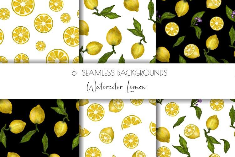 About Lemon Digital Paper,Scrapbook Paper, Graphic