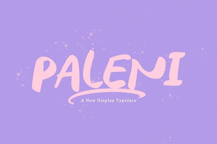 Web Font Paleni