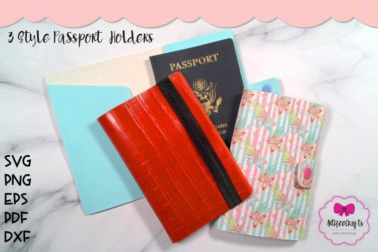 3 Style Passport Holders|Travel Passport Sleeve|Travel Holde