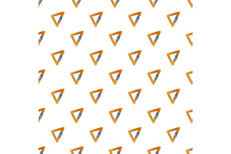Triangular carabine pattern seamless vector example image 1