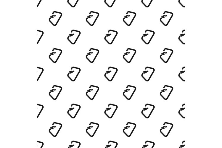 Carabine tool pattern seamless vector example image 1