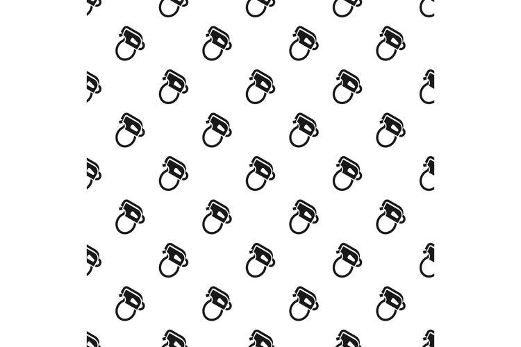 Climbing mountain tool pattern seamless vector example image 1