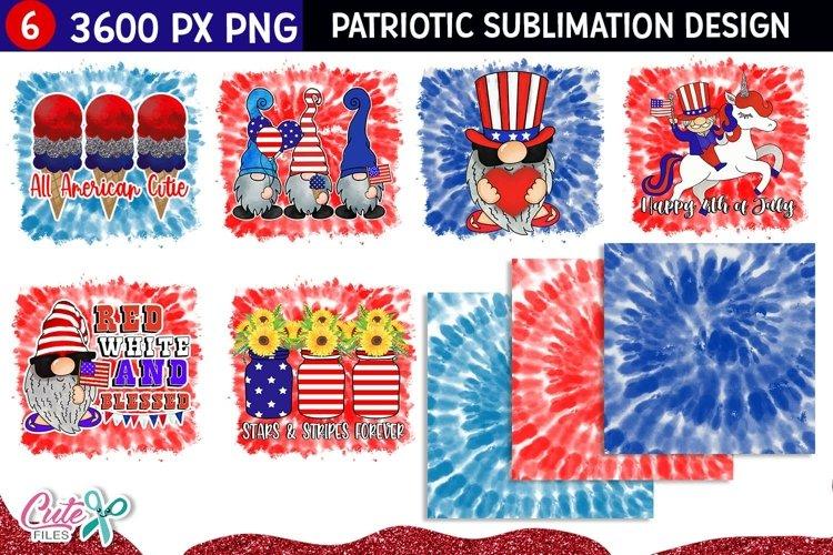 Sublimation tie dye Patriotic quotes | Bundle Vol