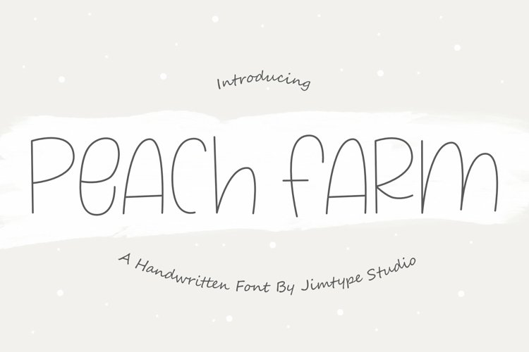 Peach Farm example image 1