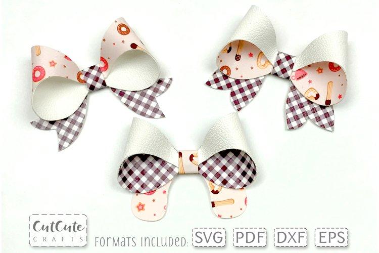 Peekaboo Bow SVG Templates cut files