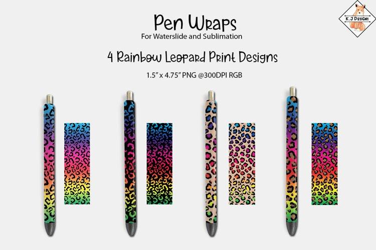 Pen Wrap Sublimation Designs