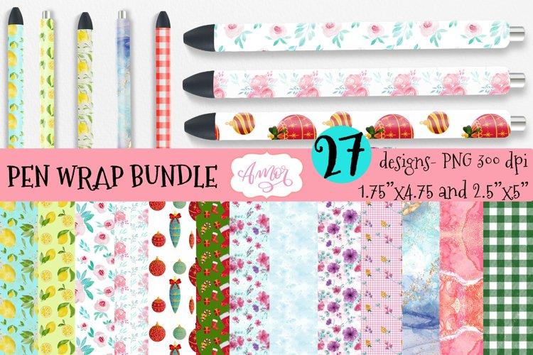 Bundle pen wraps for sublimation, epoxy pen wrap 27 designs