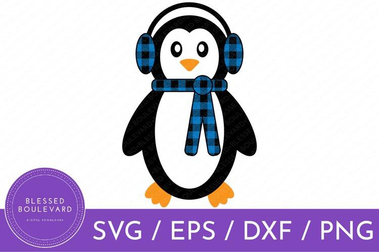 Penguin SVG   Cute Animal Clipart   Cute Christmas Clipart