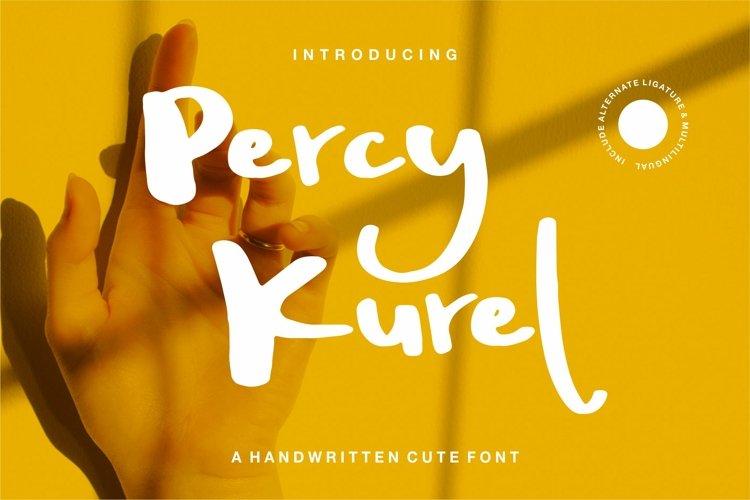 Percy Kurel - A Handwritten Script Font example image 1