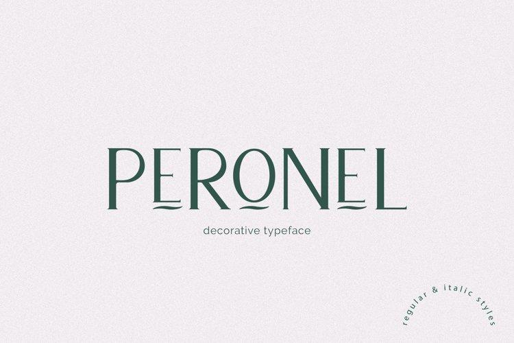 Peronel - Serif font example image 1
