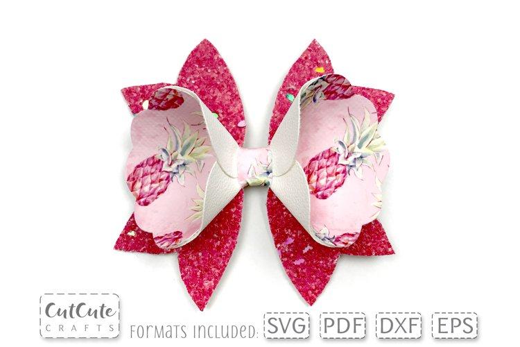 Petal Bow SVG Templates cut files
