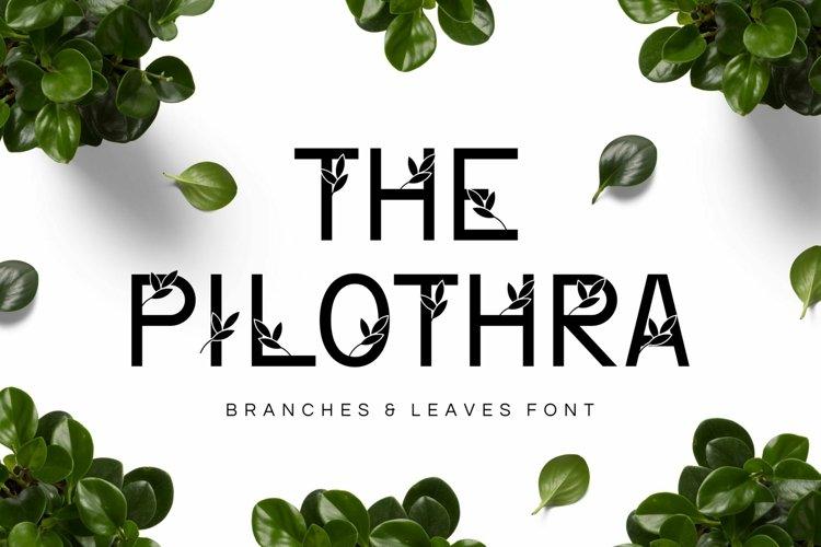 Web Font Philothra example image 1