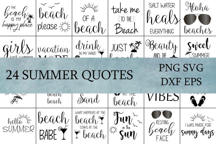 Summer SVG Cut Files Bundle