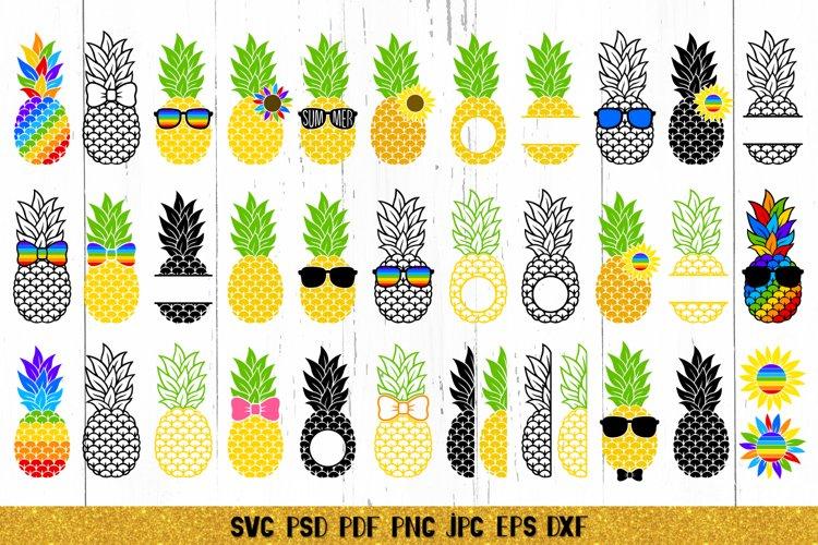 Pineapple SVG,Pineapple Monogram,Pineapple Bundle SVG,LGBTQ