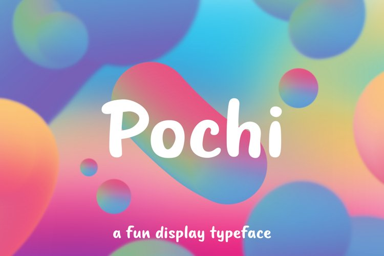 Pochi - A Fun Display Typeface
