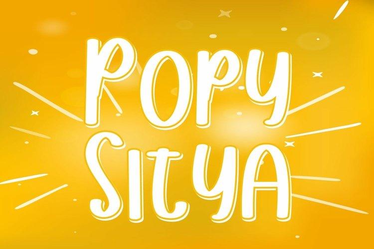 Popy Sitya example image 1