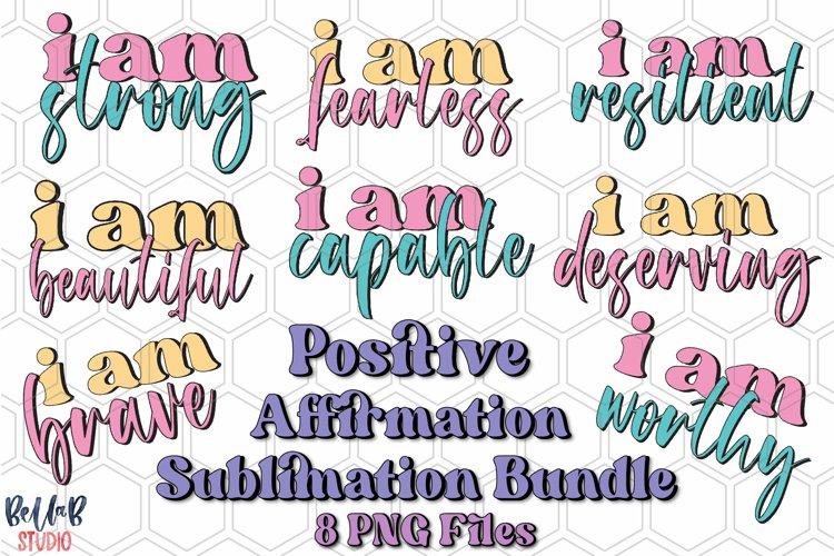 Positive Affirmation Sublimation Bundle