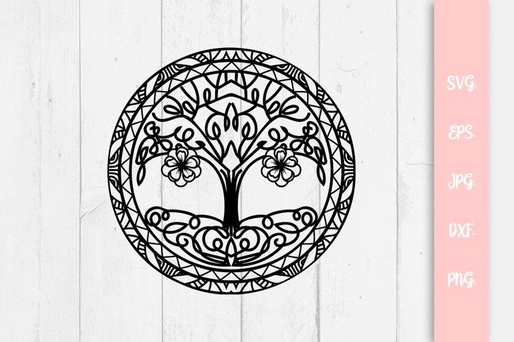 Cute Tree Of Life SVG File