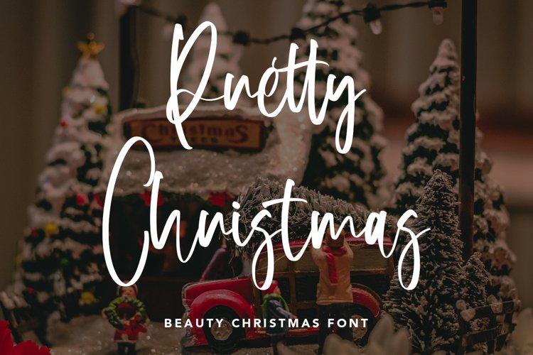 Pretty Christmas - Beauty Christmas Font example image 1