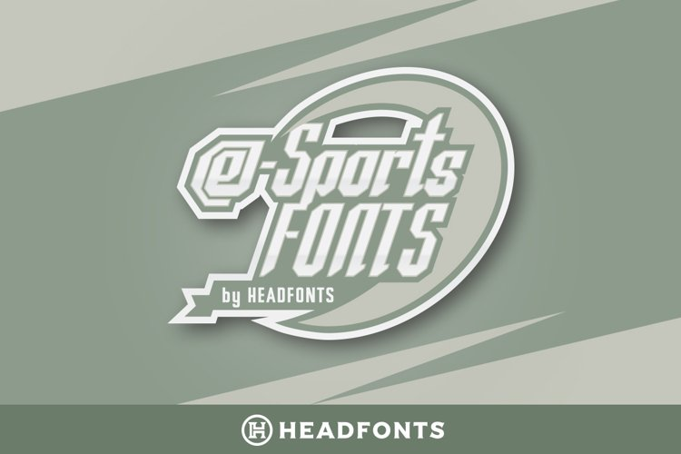 eSports Fonts   Modern Paired Duo example image 1