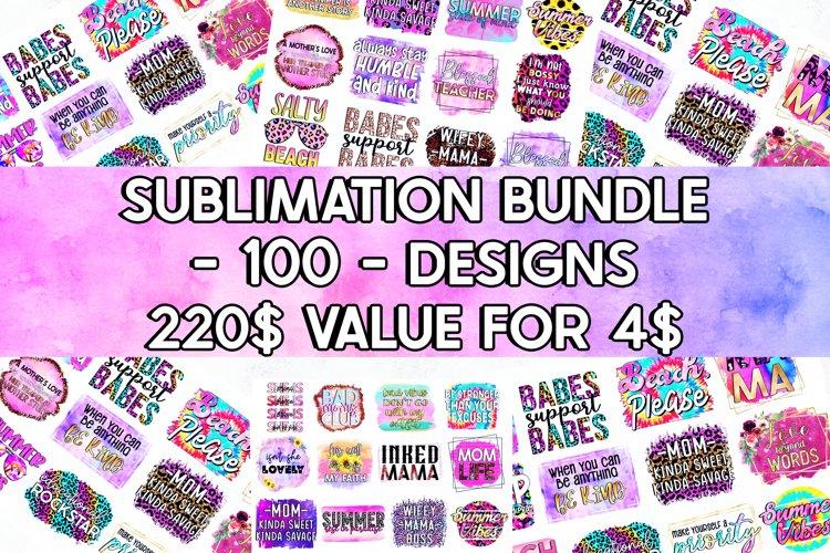 Sublimation Bundle|MEGA Sublimation bundle| PNG Designs example image 1