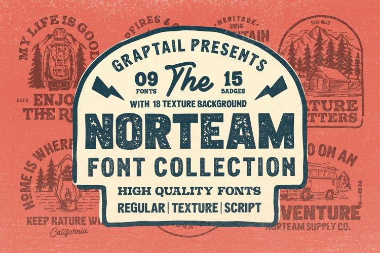Norteam | Font Collection