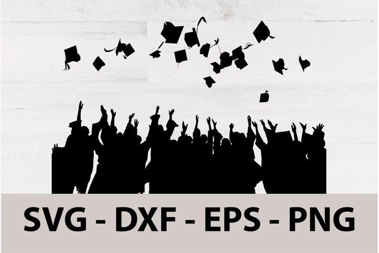 Graduation College Celebration Party with Cap SVG printable