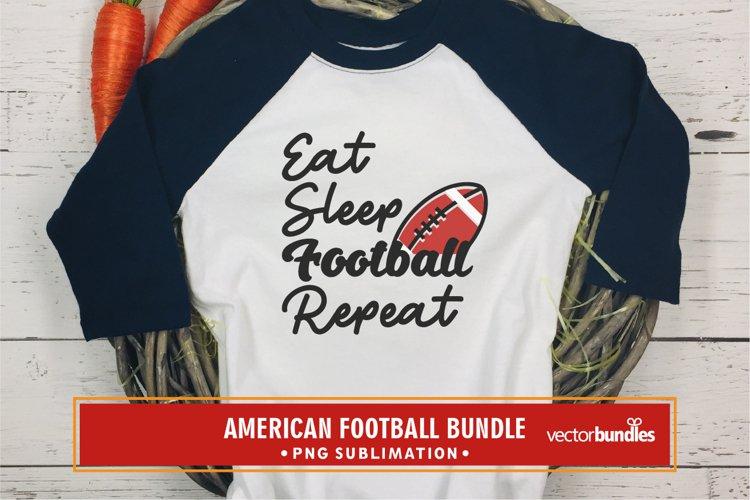 Eat sleep football repeat quote png example image 1