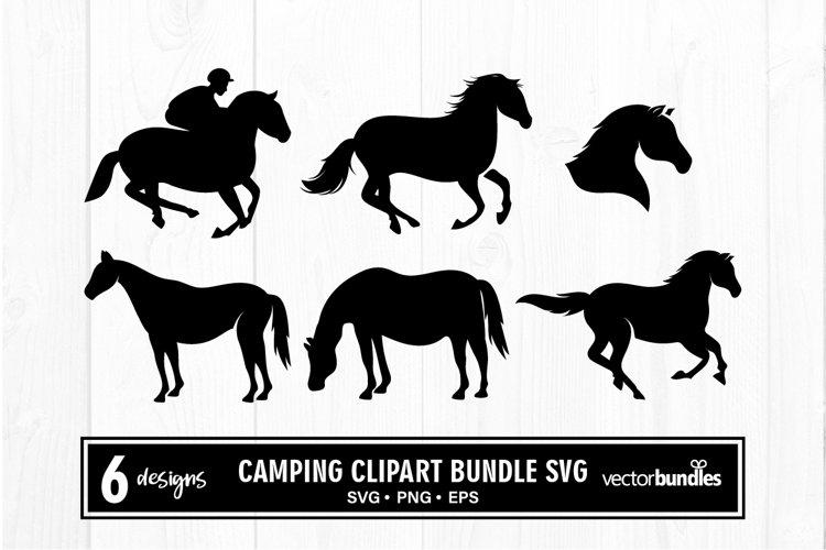 Horse clipart bundle svg