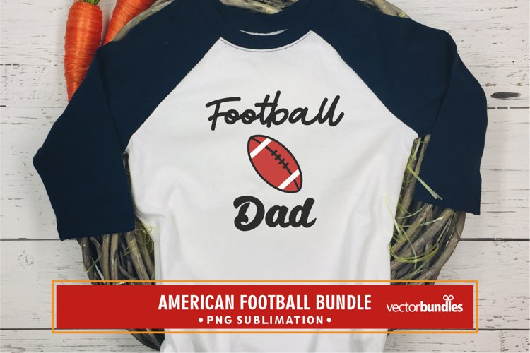 Football dad sublimation quote png example image 1