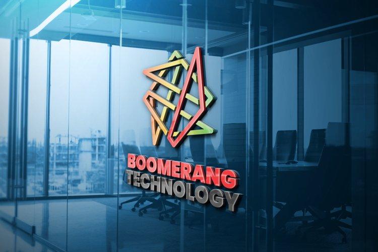 Boomerang Technology Logo Template example image 1