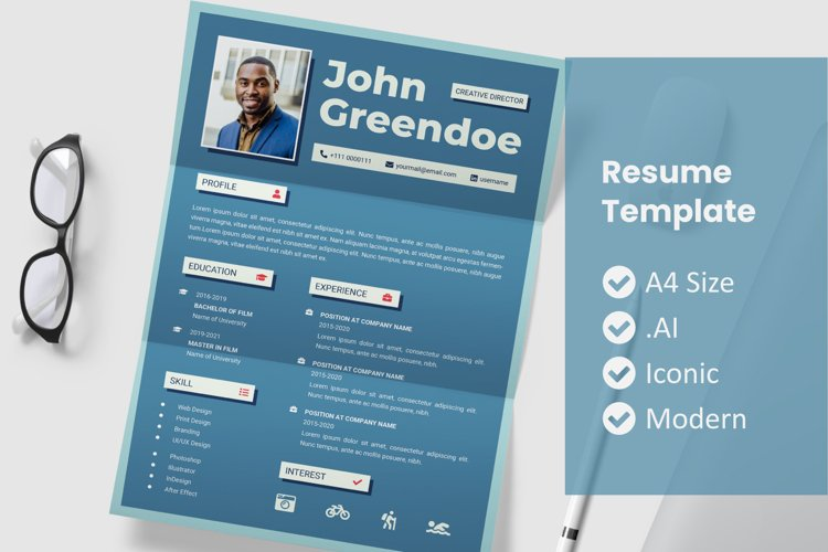 Old Resume Template