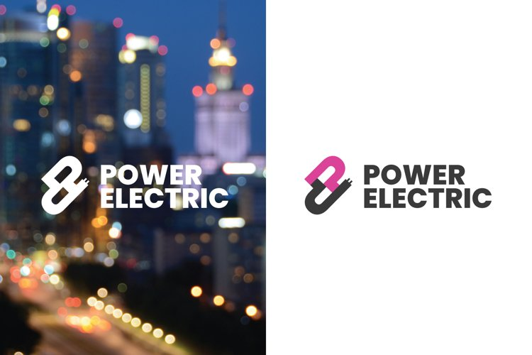 Electric Power Logo Template example image 1