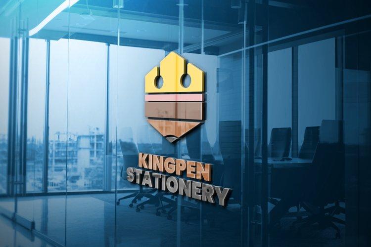 Kingpen Stationery Logo Template