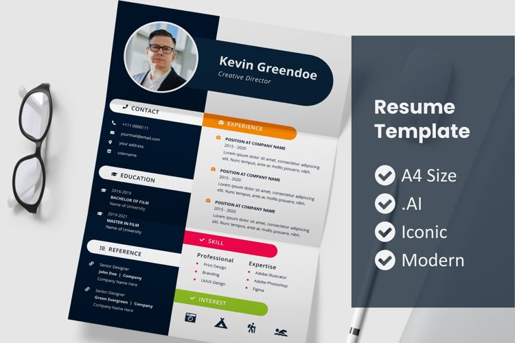 Jhony Resume Template