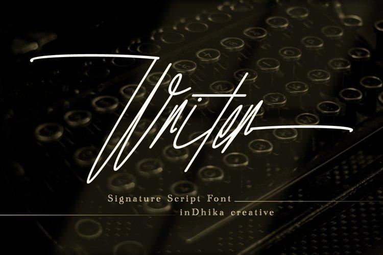 Writer example image 1