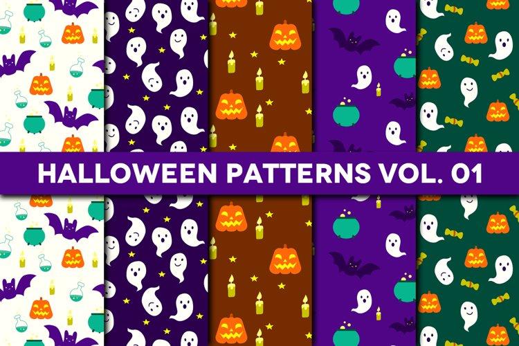 Halloween Patterns Vol. 01
