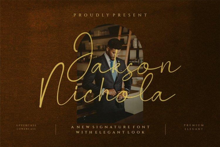 Jackson Nichola