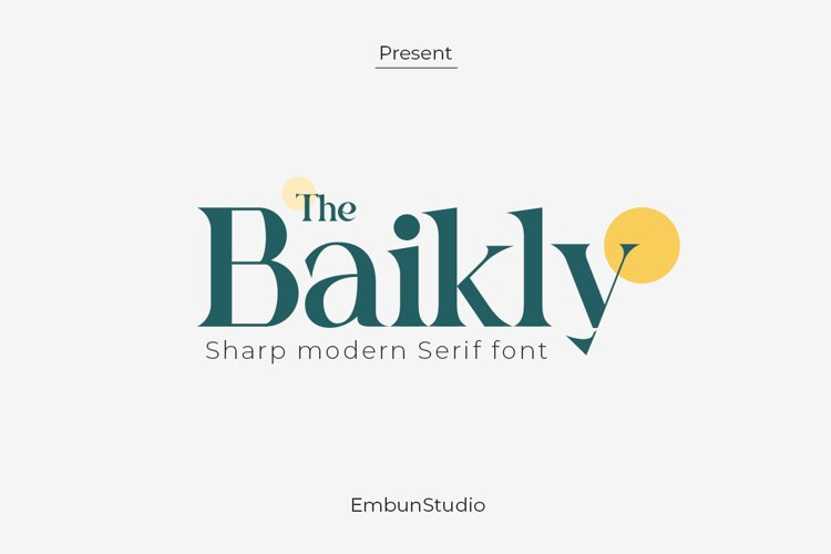 Baikly Font example image 1