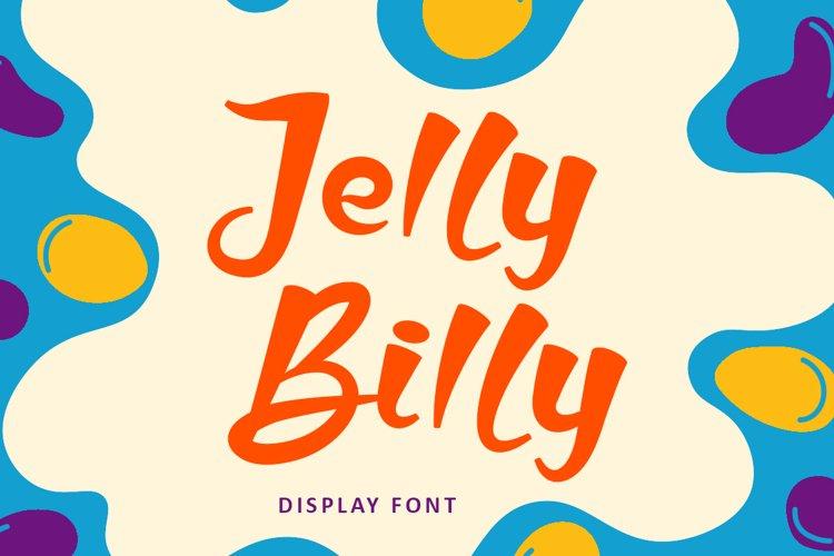Jelly Billy - Handwritten Kids Font