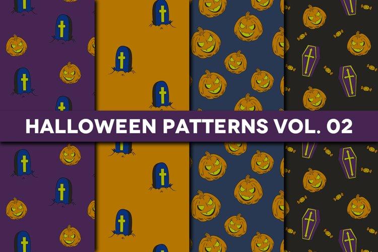 Halloween Patterns Vol. 02