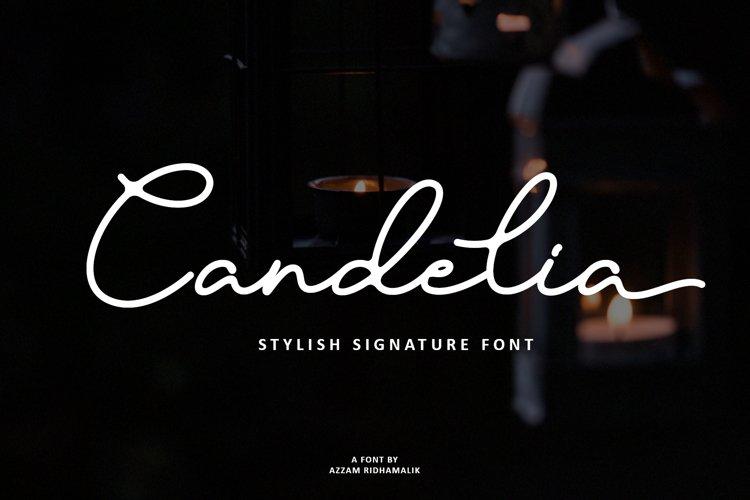 Candelia Font example image 1
