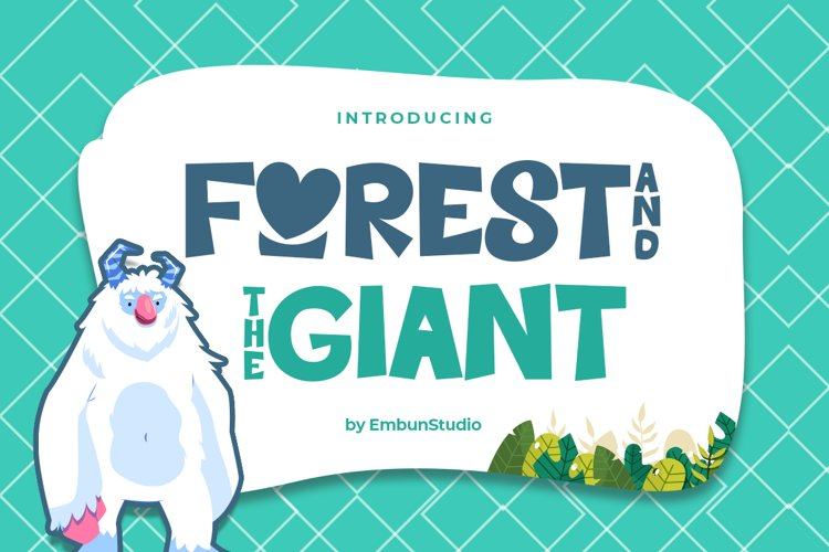 Forest and the Giant example image 1
