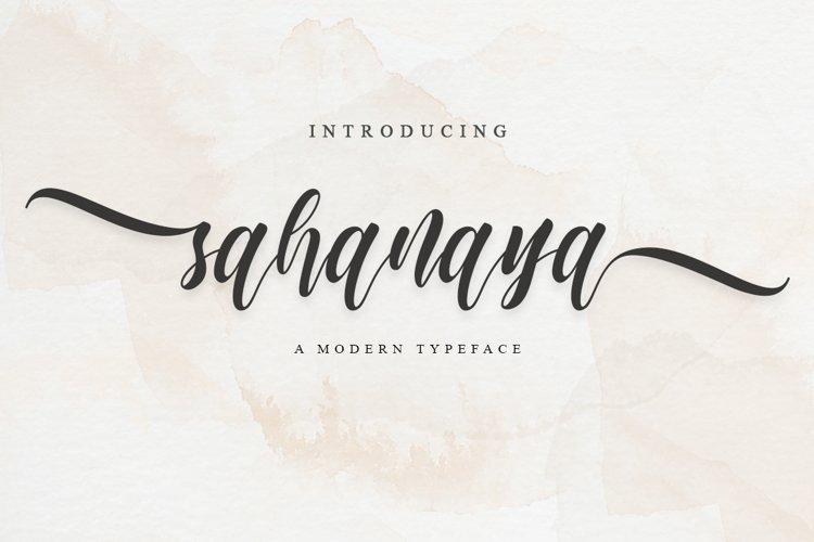 sahanaya script example image 1