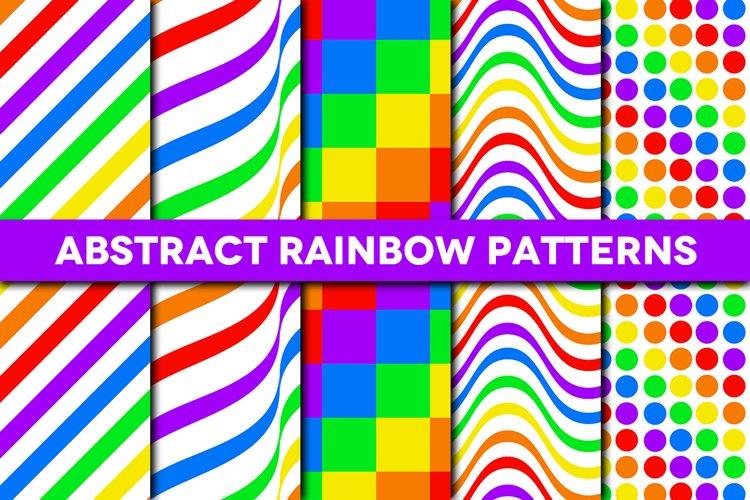Abstract Rainbow Patterns