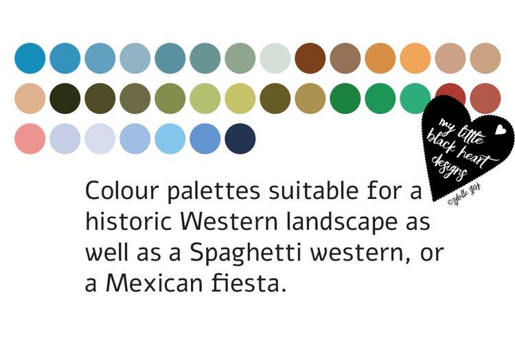 Cowboy and Western Colour Palettes