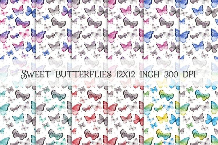 Sweet Butterflies 12x12