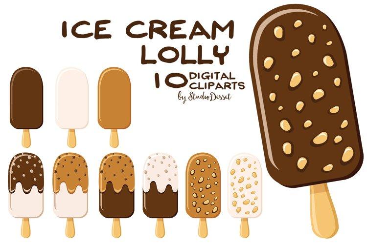 Ice Cream Cliparts   Summer Illustrations