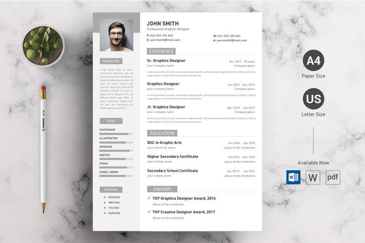 Minimal CV/Resume