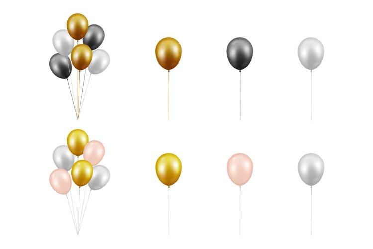 Balloons. Vector Set.